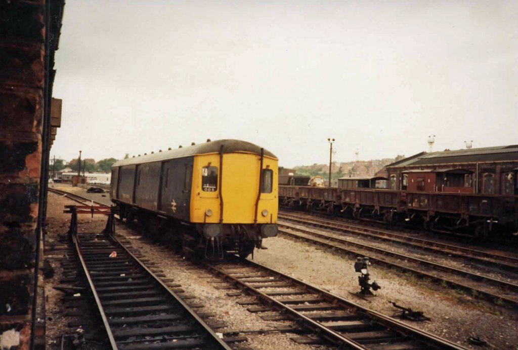 Class 128 parcels car at Worcester