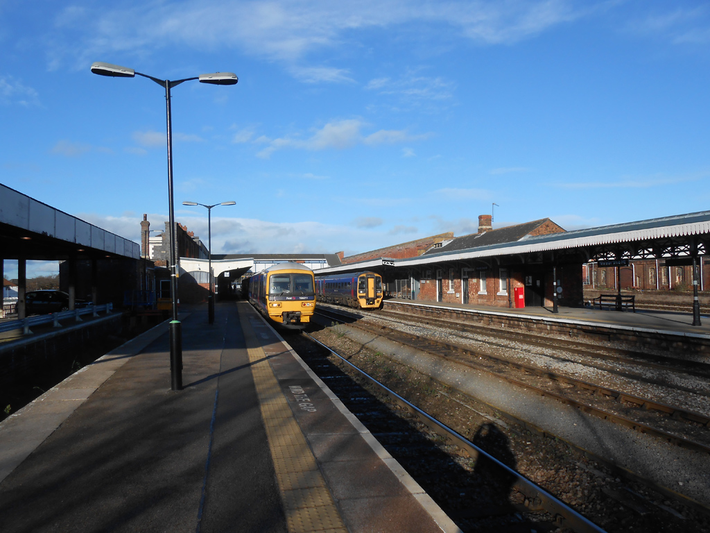 FGW DMU's at Worcester