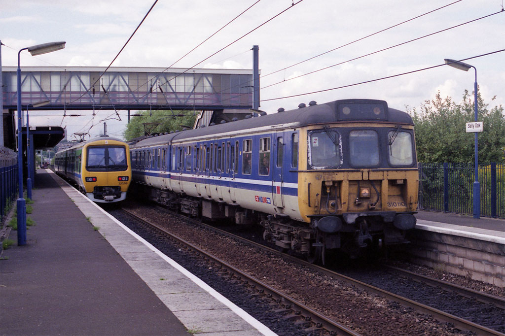 Nos 310110 & 323216 at Selly Oak