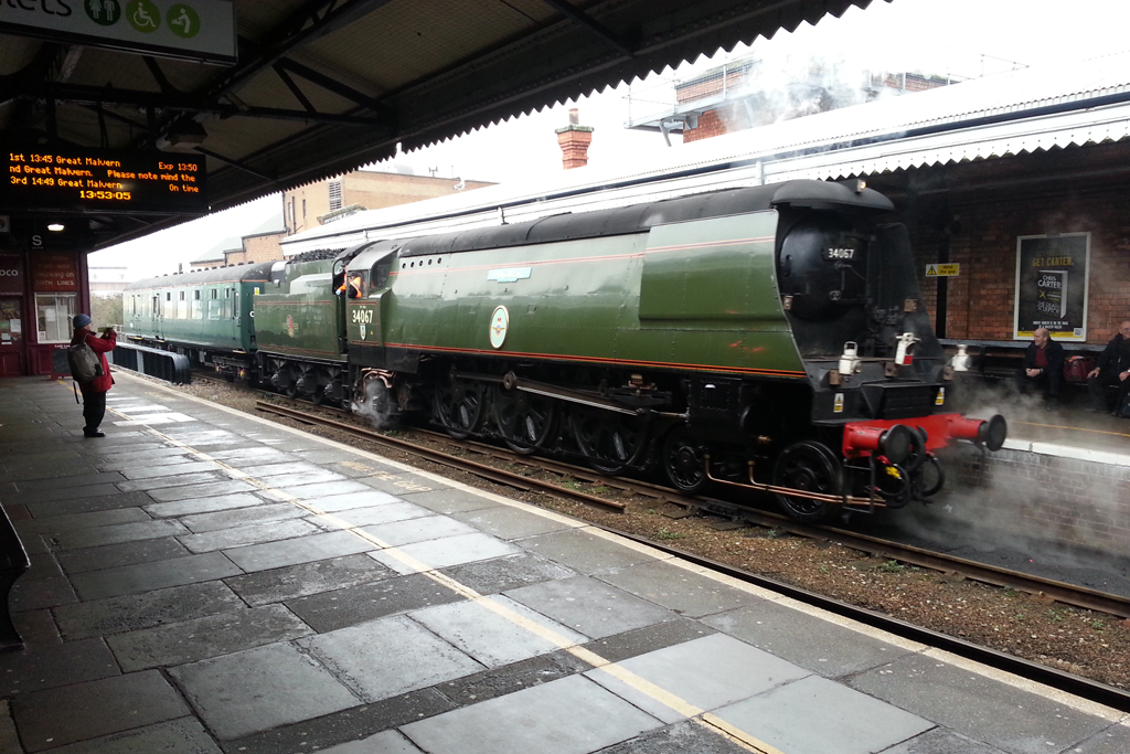 No.34067 at Worcester Foregate Street