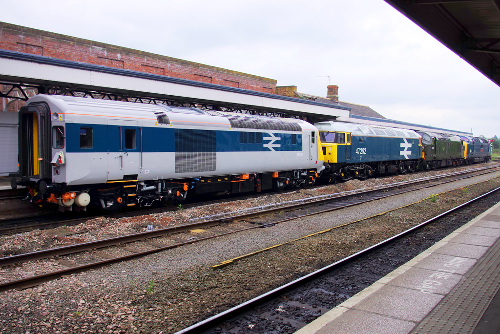 HST in Worcestershire
