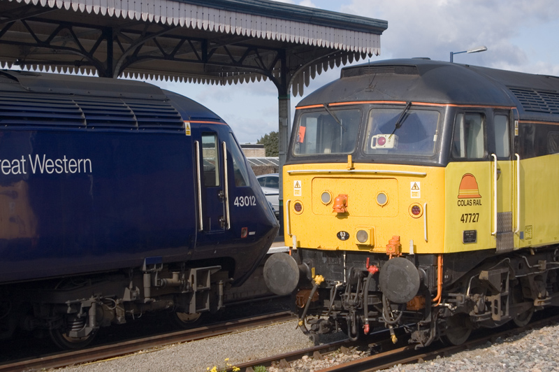 No.43012 & No.47727 at Worcester