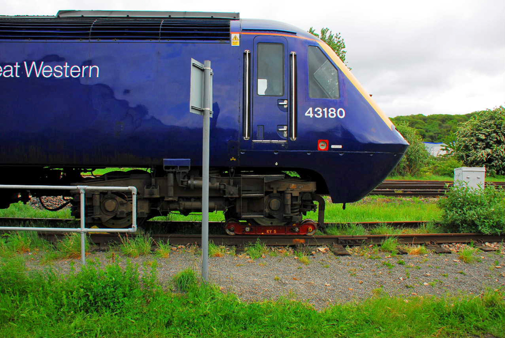 FGW No.43180 dumped at Worcester