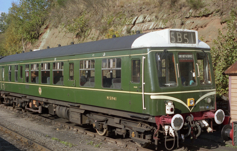 DMU No.51941 at Bewdley (SVR)