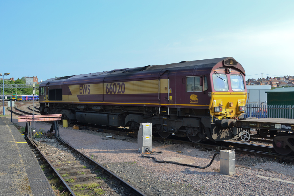 No.66020 at Worcester