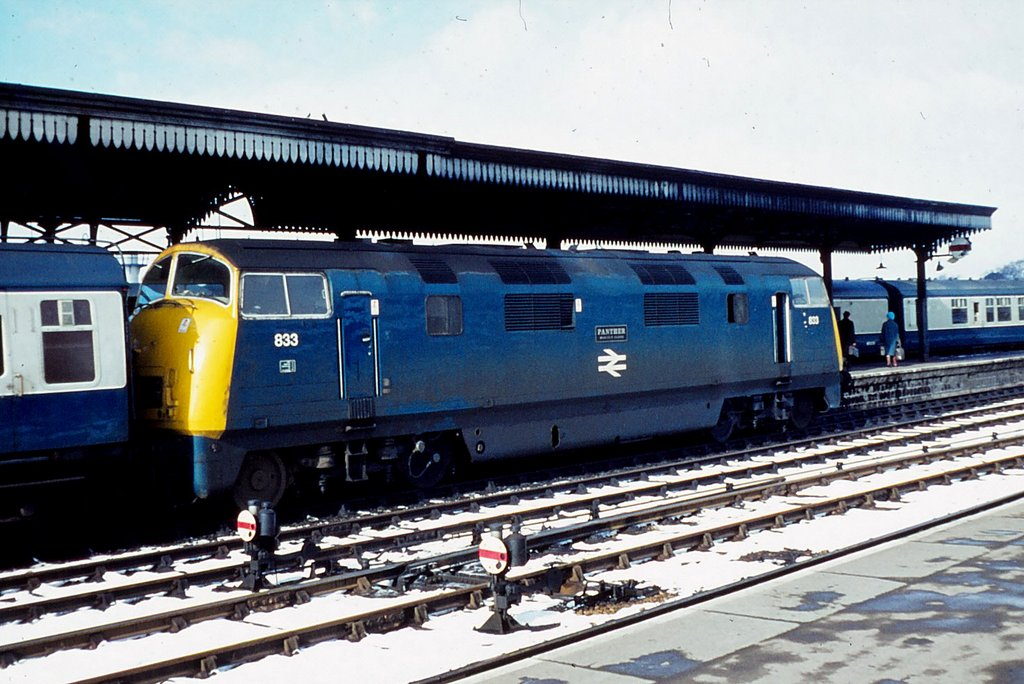 D833 at Worcester
