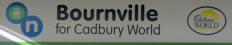 Bournville Station sign