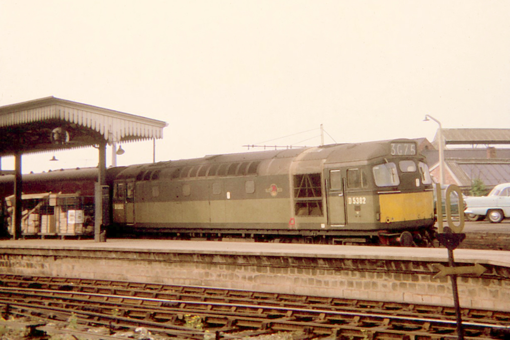 D5382 at Worcester Shrub Hill