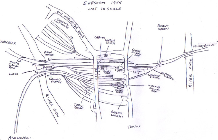 Evesham map