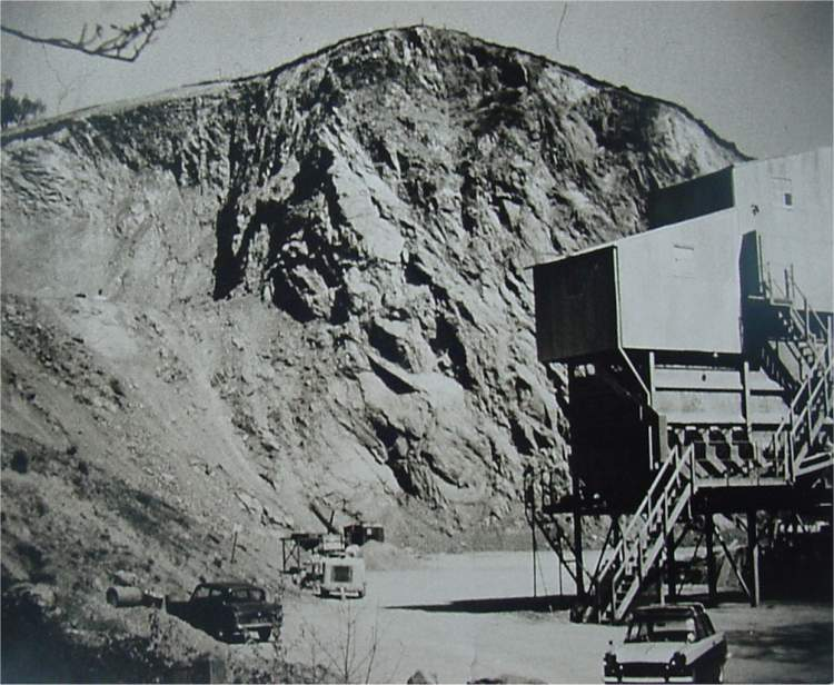 Gullet quarry 1st May 1966