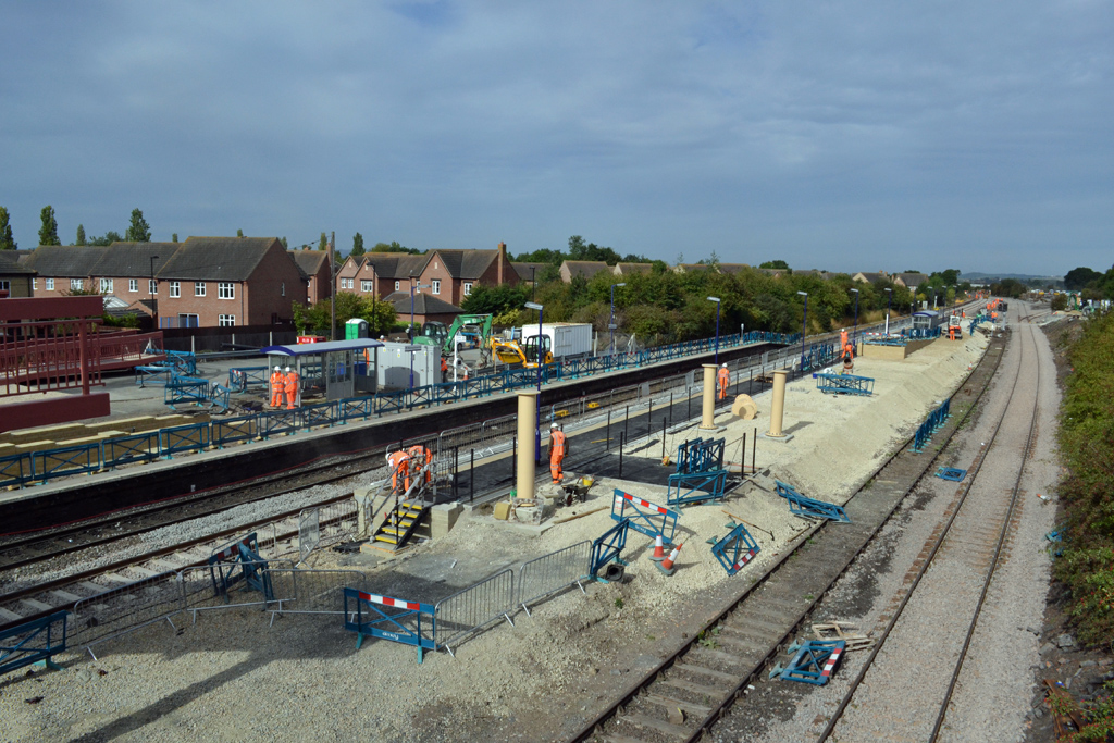 Honeybourne Station on 17th August 2011