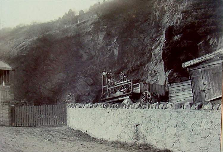 Lower Wyche quarry c1907