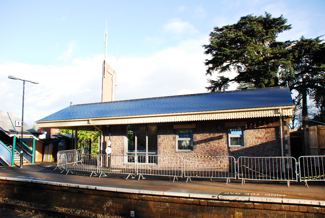 the 'new' Malvern Link Station