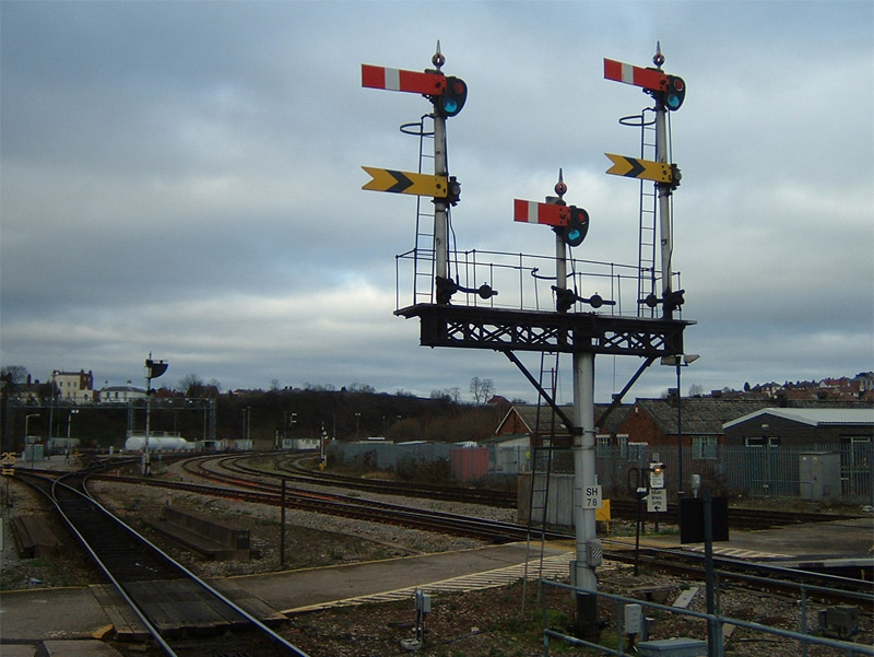 Worcester Shrub Hill signals