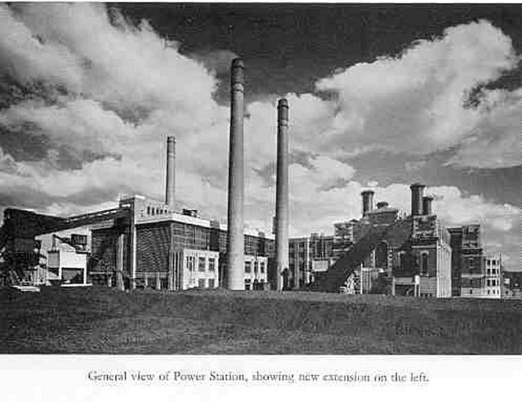 General view of power station