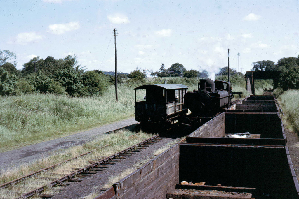 Train at Suckley