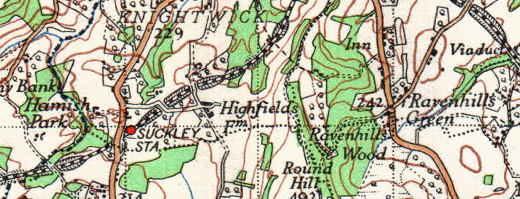 Suckley Map c1930