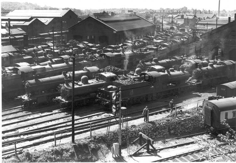 Worcester shed about 1955
