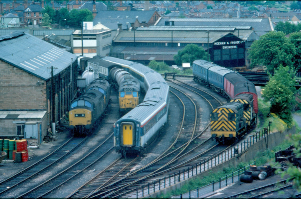 Worcester Sheds in 1977